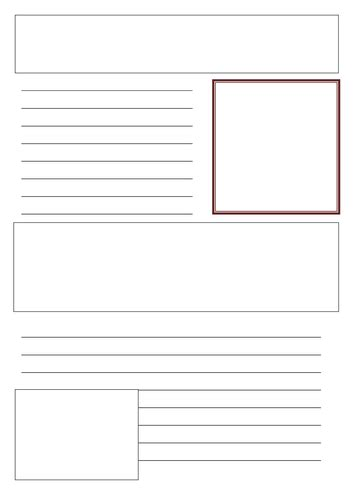 fact card template fact file template by torstout teaching resources tes
