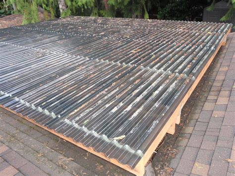 Cheap Patio Diy How To Build A Diy Decking Cover Permaculture Magazine