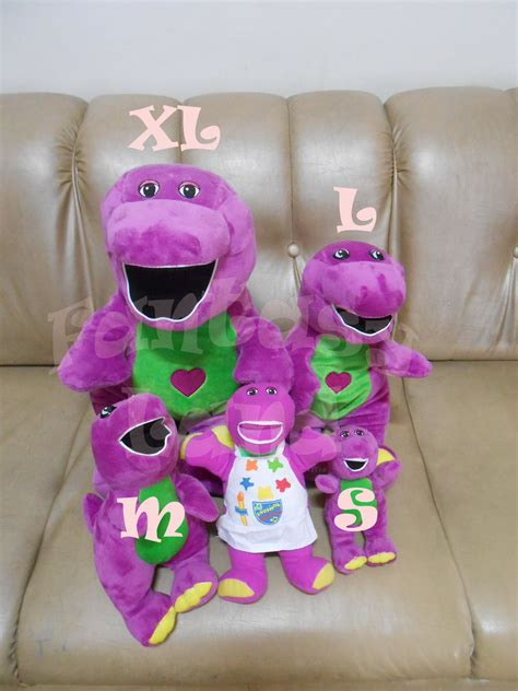 Boneka Barney Xl By Cahaya jual boneka barney singing menyanyi lagu musik