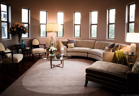 circular living room design chic rowe furniture in living room contemporary with semi circle ideas next to sofa