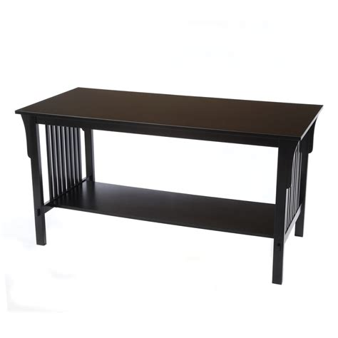 Mission Coffee Table Contemporary Living Rooms Bay Shore Collection Mission Coffee Table Black