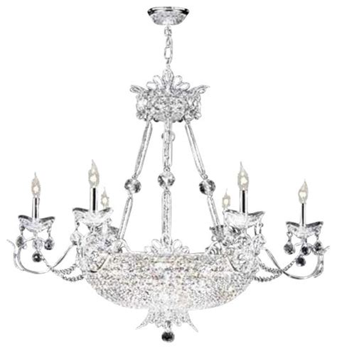 Princess Chandeliers 94112g22 R Moder Princess Chandelier Transitional Chandeliers By Elite Fixtures