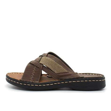 Comfortable Walking Flip Flops by New Mens Slip On Sandals Comfort Summer Walking Mules