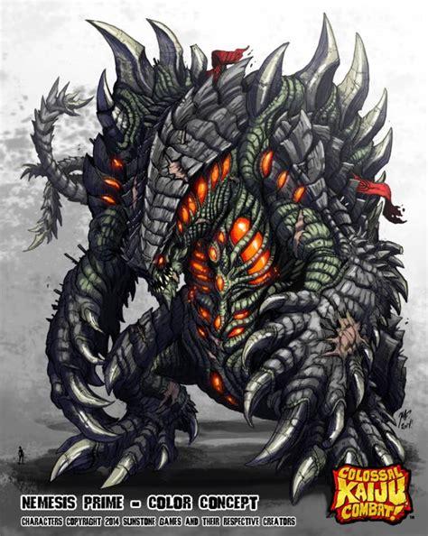 frozen giant coloring pages ckc monster list nemesis prime colossal kaiju combat