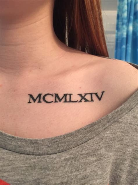 cool roman numeral tattoo designs 17 awesome numeral tattoos designs sheideas