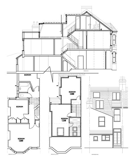 terraced house loft conversion floor plan victorian terrace loft conversion floor plans thefloors co