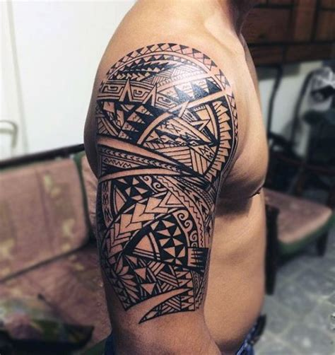la ink tattoos designs men trends half sleeve maori design ideas