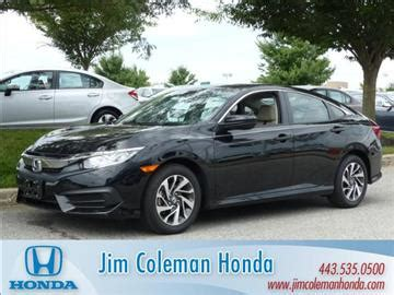 Honda Clarksville Md by Jim Coleman Honda Used Cars Clarksville Md Dealer