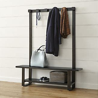 bench and coat rack combo 1000 ideas about contemporary hall trees on pinterest