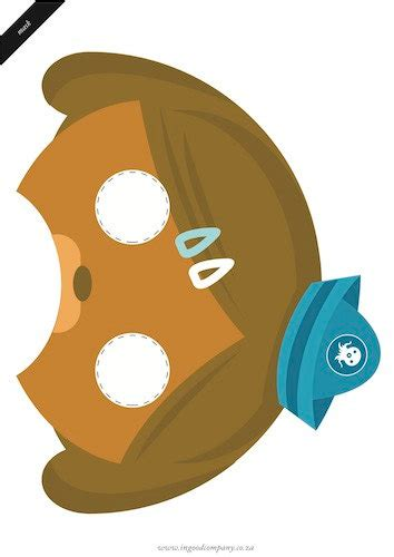 dashi dog coloring page dashi dog octonauts printable party mask octonauts