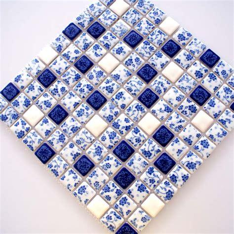 blue and white porcelain tile mosaic tiles ceramic blue and white tile glossy porcelain mosaic bathroom tiles