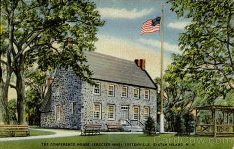 the conference house eaected 1668 tottenville staten
