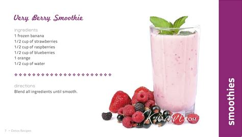 Detox Fruit Smoothie Recipes by A Smoothie Recipe And A Happy Just For You Kwavi