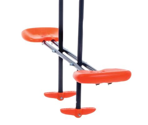 troline swing set combo hedstrom m08601 double swing and glider combination