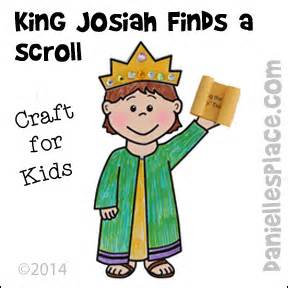 King josiah find a scroll bible craft for sunday school and children s