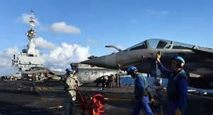 hollande sur le porte avions charles de gaulle d 233 ploy 233 au