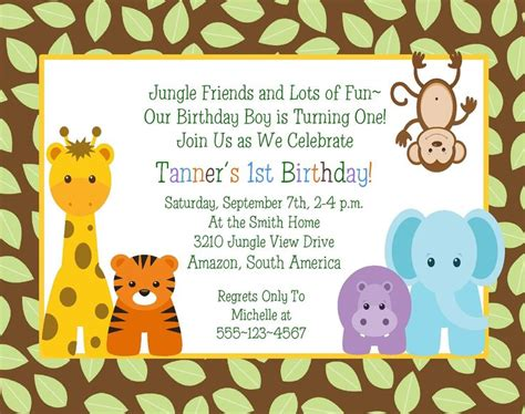 Jungle Animals Baby Shower by 17 Best Images About 1st Bday Ideas On