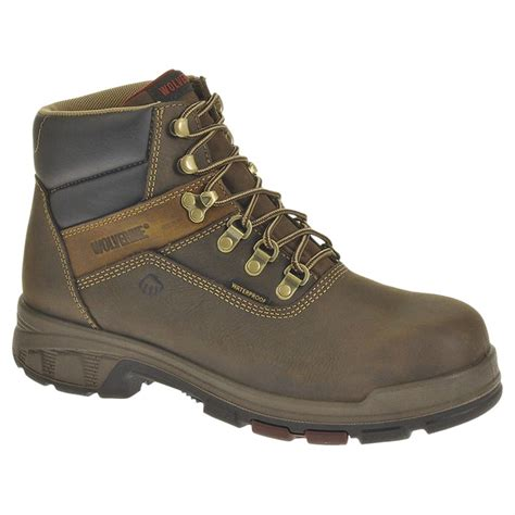mens composite toe work boots s wolverine 174 6 quot cabor epx waterproof composite toe