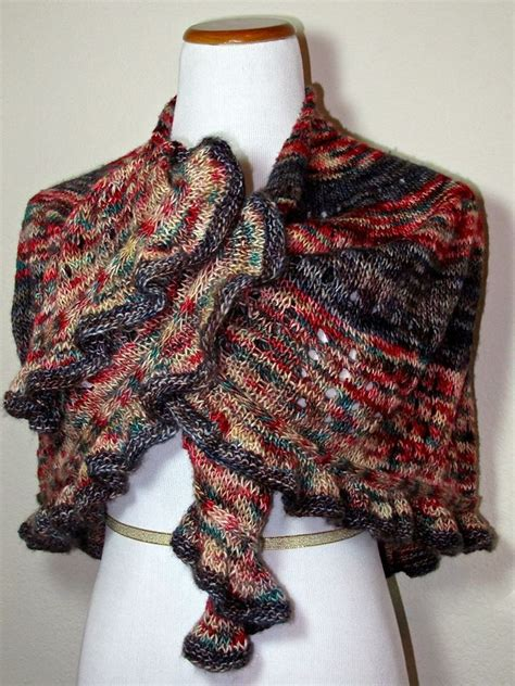pattern knitting meaning quot vivace quot means movement this knitted shawl has beautiful