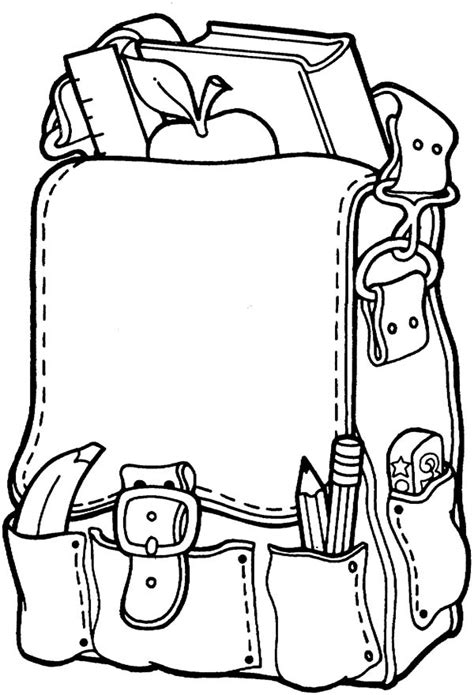 preschool coloring pages about school back to school coloring pages for preschool clipart