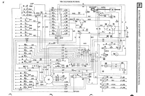 1986 land rover 90 wiring diagram 1986 automotive wiring