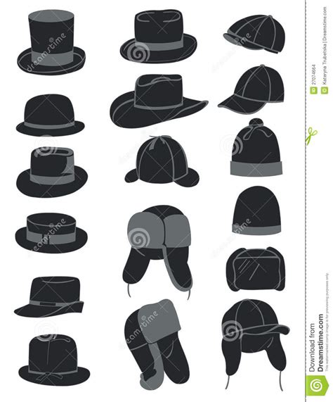 1940 Kitchen Design men s hats stock images image 27074664