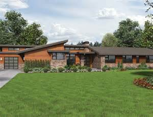 Modern Contemporary Ranch House Modern Ranch Style Home Plans House Of Samples