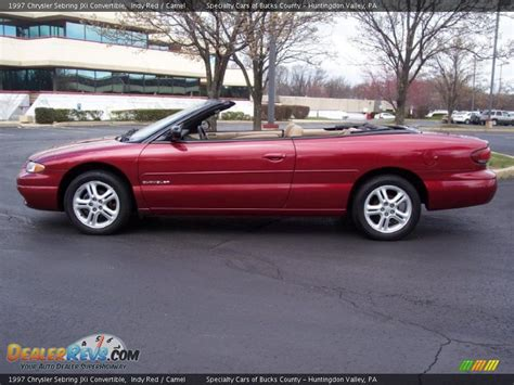 1997 Chrysler Sebring by 1997 Chrysler Sebring Jxi Convertible Indy Camel