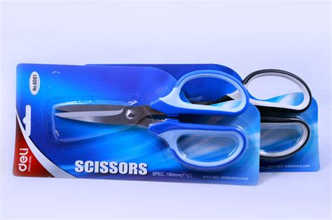 Office Scissors Deli Kode Produk 6058 envelopes scissors products stationery store in jb