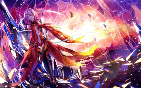 wallpaper anime guilty crown inori yuzuriha guilty crown 3 wallpaper anime