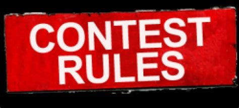 Contest Giveaway Rules - sle contest rules for sweepstakes giveaways online contests hubpages
