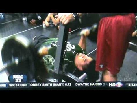 stephen paea bench press record stephen paea benches 225lbs 49 times for combine record