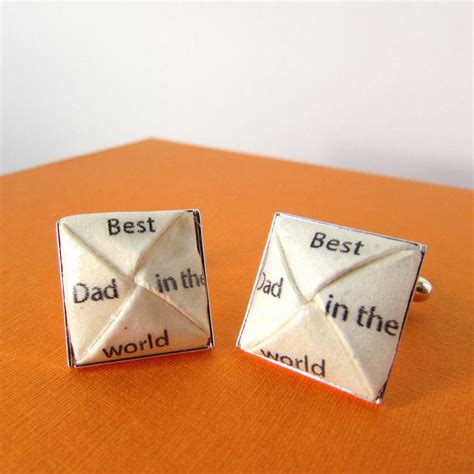 The Best Origami In The World - best in the world cufflinks by the origami boutique