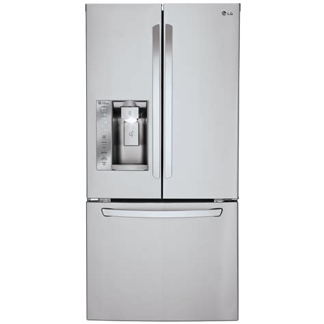 door refrigerator sears outlet lg lfxs24623s 24 2 cu ft door refrigerator w