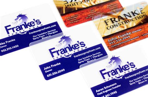 Variable Printing Business Cards