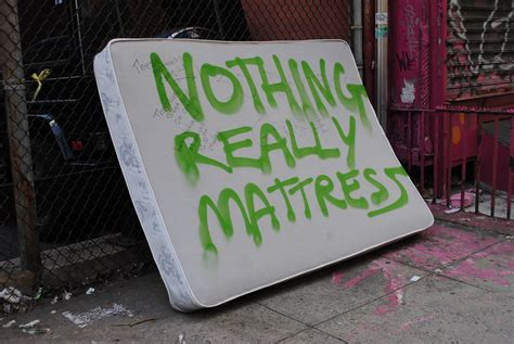 Nothing Really Mattress nothing really mattress from 130 baxter nothing