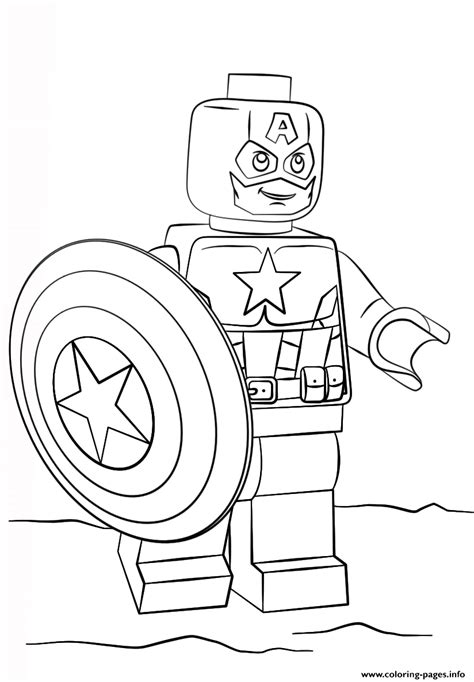 little lego coloring pages lego captain america coloring pages printable