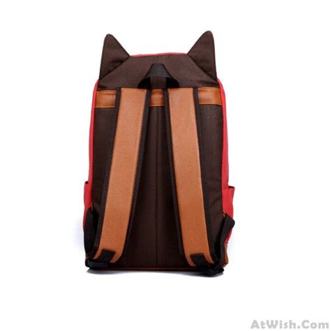 Lovely Cat Backpack By Anfashion lovely cat ears canvas backpack schoolbag fashion
