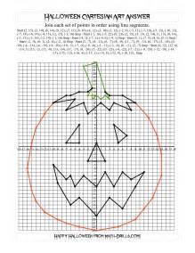 cartesian art halloween jack o lantern halloween math