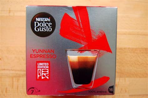 dolce gusto espresso kapseln dolce gusto yunnan espresso kapsel check