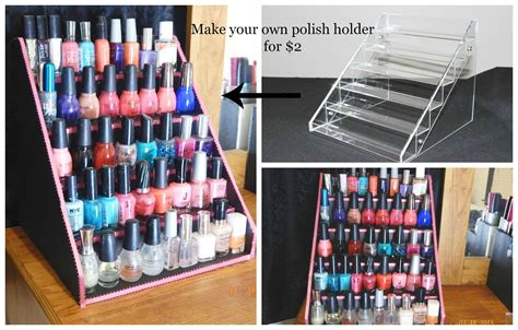 Build Your Own Nail Rack by 31 Diy Racks For Nail Display Guide Patterns