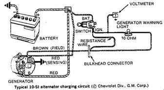 how to wire a battery isolator with a three wire alternator typical 10 si alternator charging