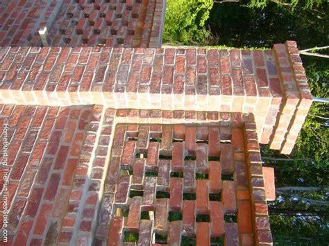 Brick Laminate Picture Brick Garden Walls Brick Garden Wall