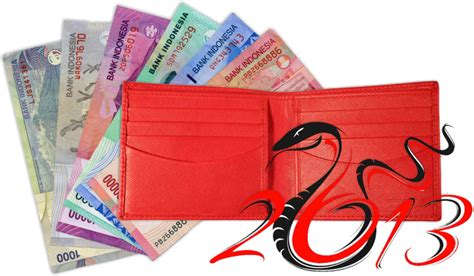 Dompet Imlek primbon donit ganti warna dompet anda dengan warna merah