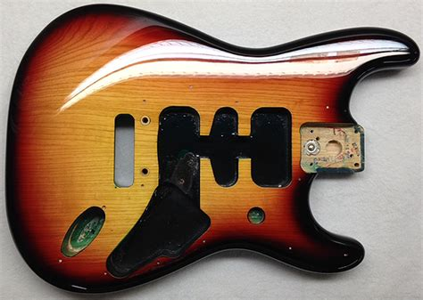 1962 fender stratocaster vintage 3 color burst sims guitar refinishing and painting custom