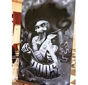 Airbrush Art  Chicano Arte Just