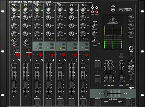 Mix Table by Table De Mixage Behringer Pro Mixer Dx2000 Usb Dx2000usb