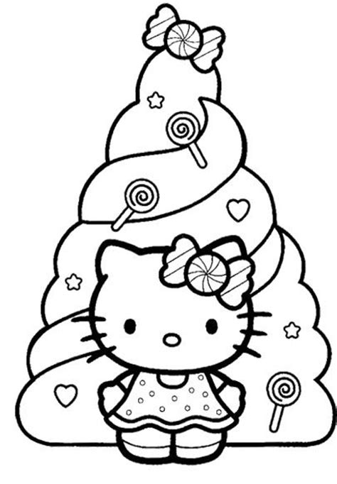 coloring sheets hello kitty christmas 104 best images about hello kitty on pinterest pages to