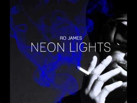 printable lyrics to neon lights ro james neon lights lyrics