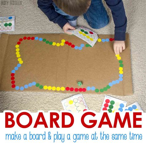 diy game diy board game busy toddler